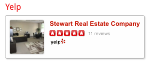 Yelp Review Link Stewart Real Estate Redding California